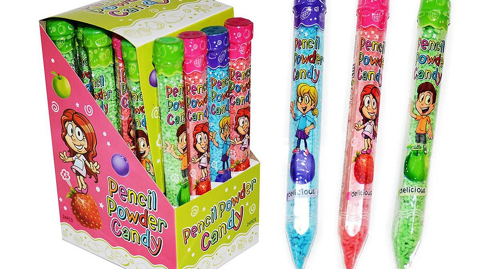Cukierki - Pencil Powder Candy 24 szt.