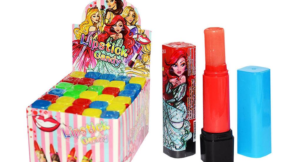 Lizaki kolorowe szminki Lipstick Candy 30 szt.