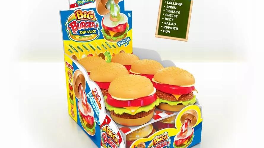 Johny Bee Lizak w proszku+Burger 12szt.