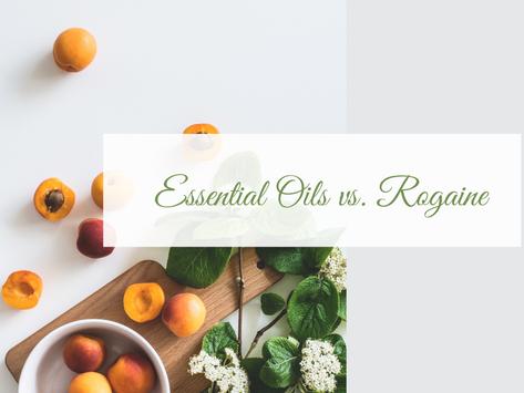 Essential Oils vs Rogaine