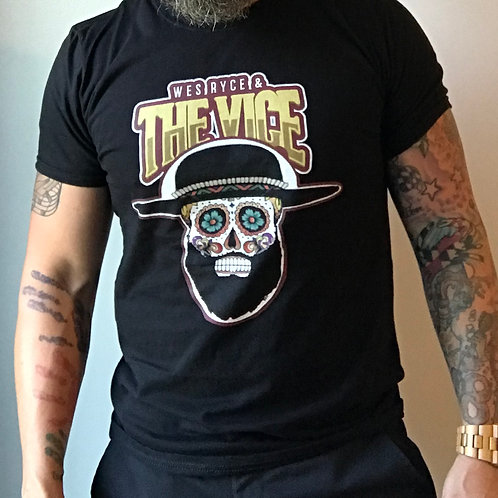 The Vice Sugar Skull tee