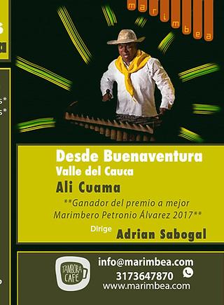 Taller con Alí Cuama de Buenaventura