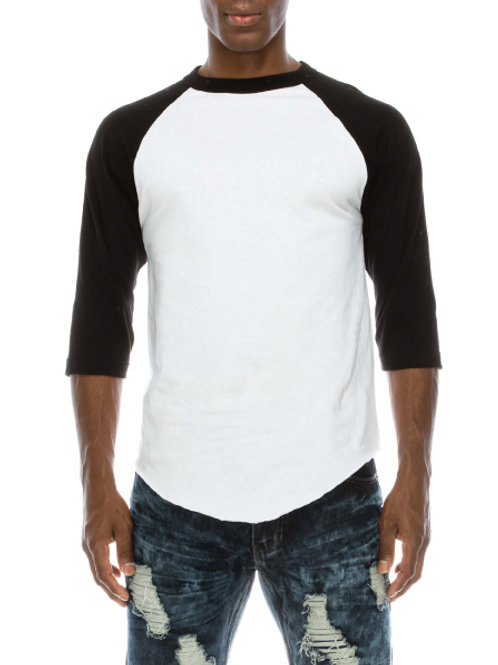 Raglan Sleeve Baseball T-shirt (6-pack)