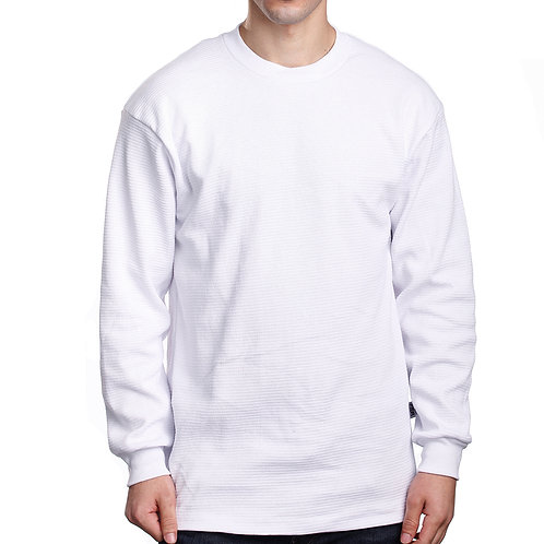 Thermal Long Sleeve-White