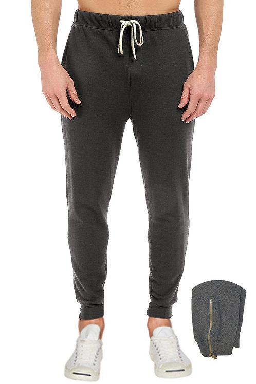 French Terry Zipper Pants
