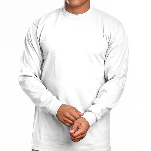 Super Heavy Long Sleeve-White
