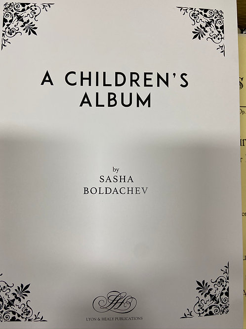 Boldachev: A Children's Album