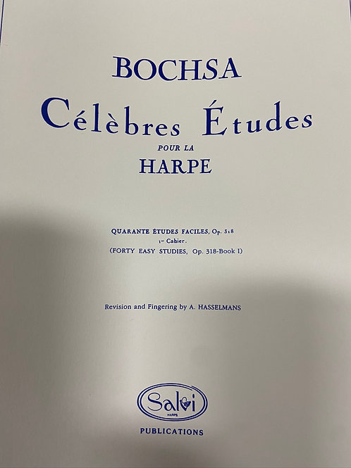 Bochsa: 40 easy Studies Opus 318 Vol 1