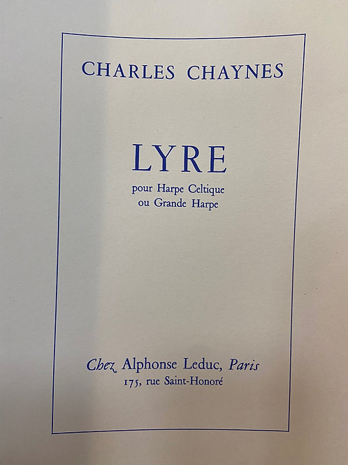 Chaynes: Lyre