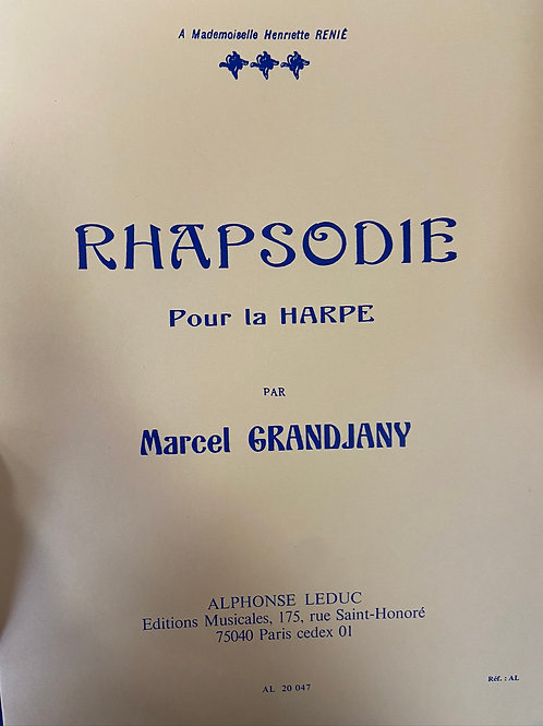 Grandjany: Rhapsodie