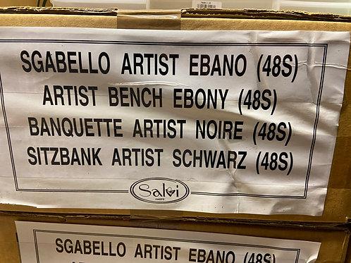 40% off Salvi adjustable harp bench - ebony finish