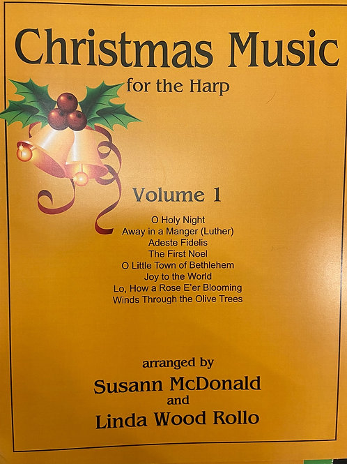 McDonald & Wood: Christmas Music for the Harp Vol 1.