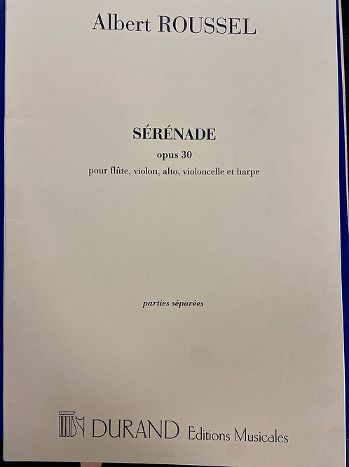 Roussel: Serenade opus30