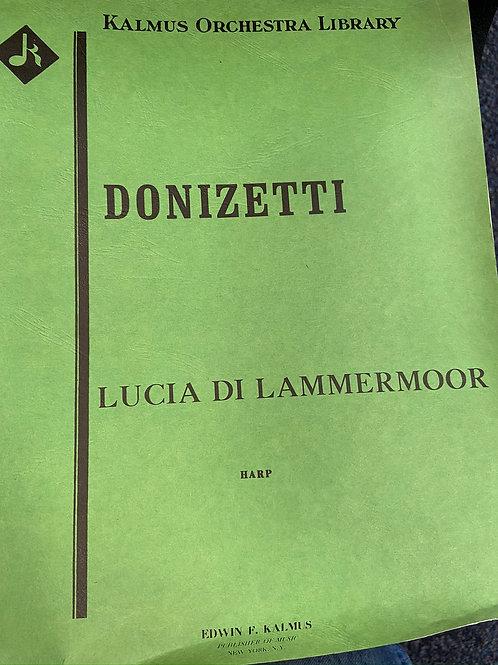 Donizetti: Lucia di Lammermoor harp part