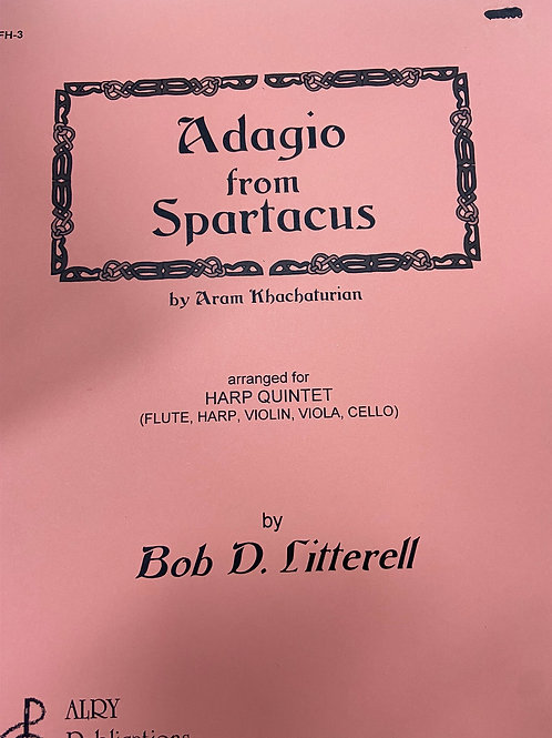 Khatchaturian: Adagio from Spartacus arr. Litterell