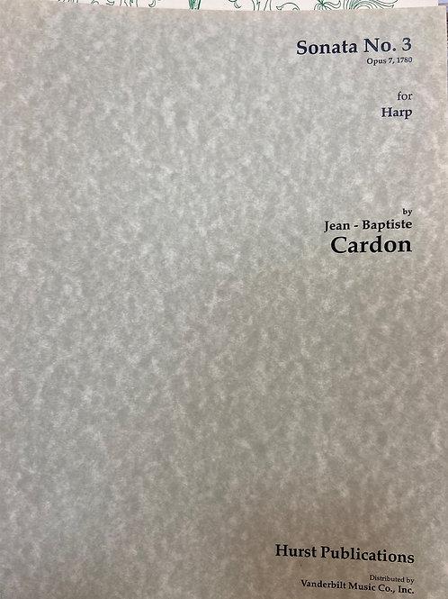 Cardon: Sonata Opus 7 No. 3