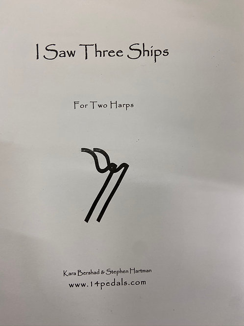 Bershad & Hartman: I Saw Three Ships for two harps