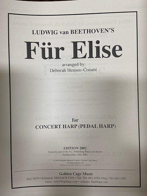 Beethoven: Fur Elise arr. Henson-Conant