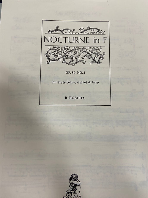 Bochsa: Nocturne in F for flute and harp