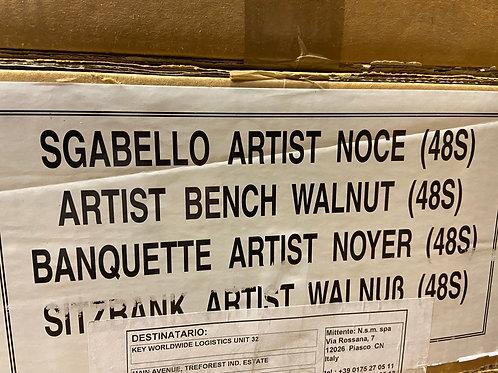 40% off Salvi adjustable harp bench - walnut finish