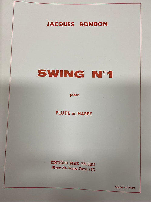 Bondon: Swing No 1 for flute and harp