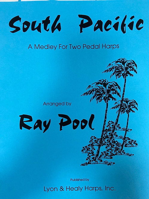 Pool: South Pacific for 2 pedal harps
