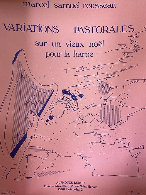 Samuel-Rousseau: Variations Pastorales harp part