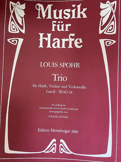 Spohr: Trio for violin, cello and harp in F minor