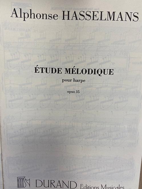 Hasselmans: Etude Melodique opus 35