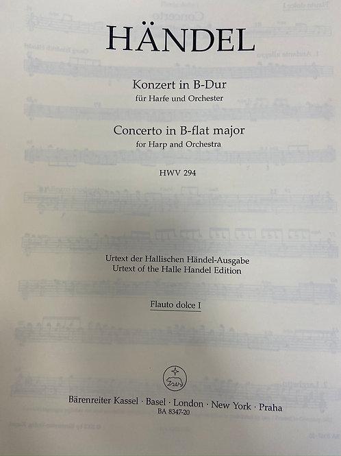 Handel: Concerto parts