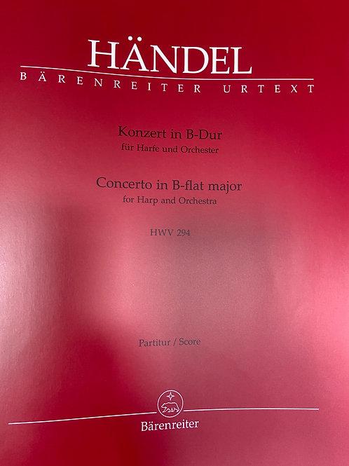 Handel: Concerto Score