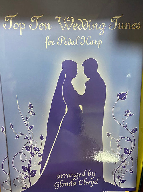 Clwyd: Top Ten Wedding Tunes for Pedal Harp
