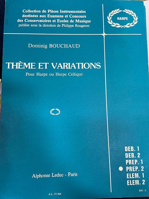 Bouchaud: Theme et Variations
