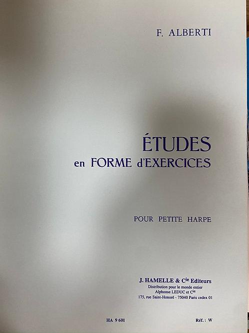 Alberti: Etudes en Forme d'Exercices