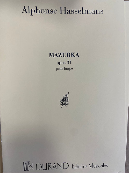 Hasselmans: Mazurka Opus 31