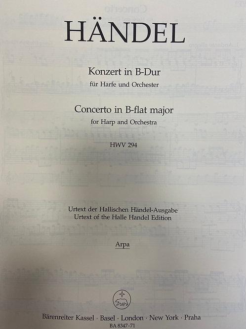 Handel: Concerto harp part (Barenreiter)