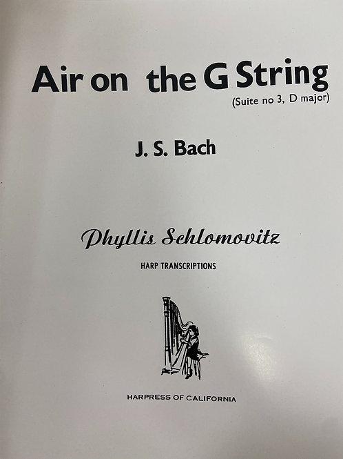 Bach: Air on a G String arr. Schlomovitz