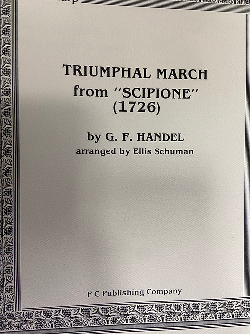 "Handel: Triumphal March from ""Scipione"" arr. Schuman"