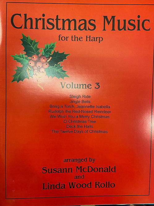 McDonald & Wood: Christmas Music for the Harp Vol 3