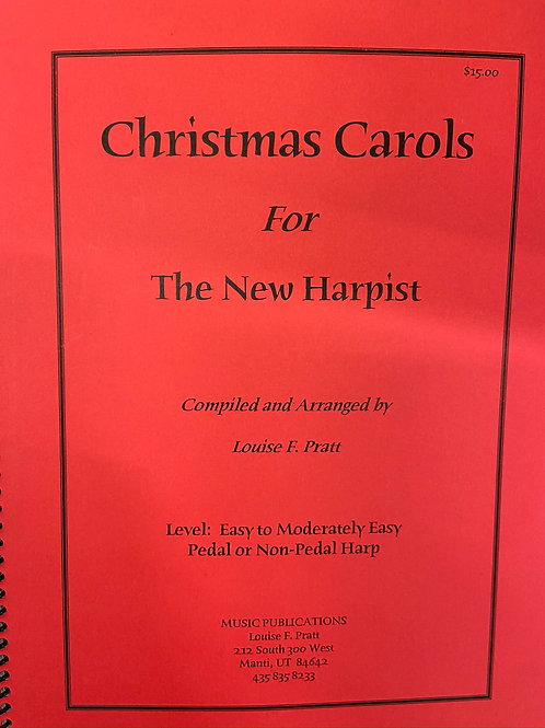 Pratt: Christmas Carols for New Harpists