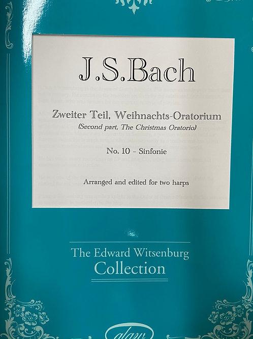 J.S. Bach: Christmas Oratorio for 2 harps