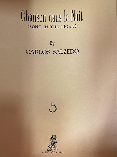 Salzedo: Chanson Dans La Nuit