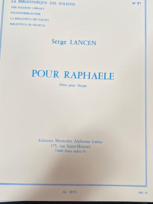 Lansen: Pour Raphaele