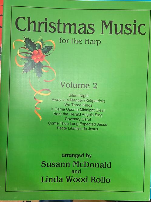 McDonald & Wood: Christmas Music for the Harp Vol 2