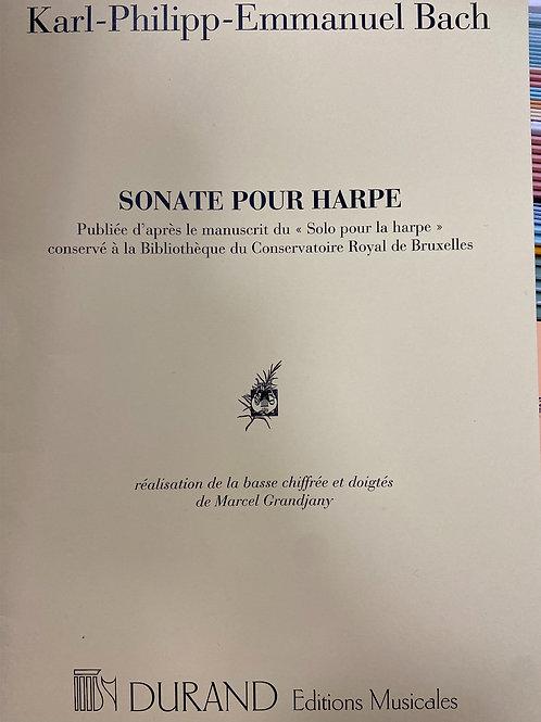 C.P.E.Bach: Sonata for Harp arr. Grandjany