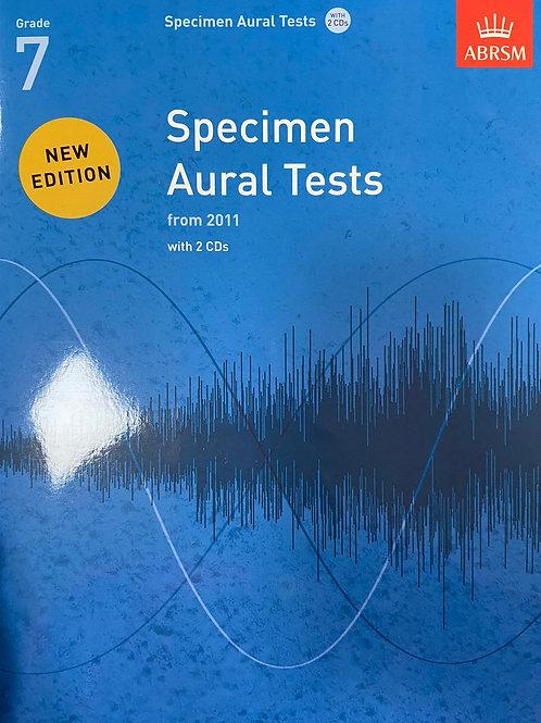 ABRSM: Specimen Aural Tests Grades 7 (2011)