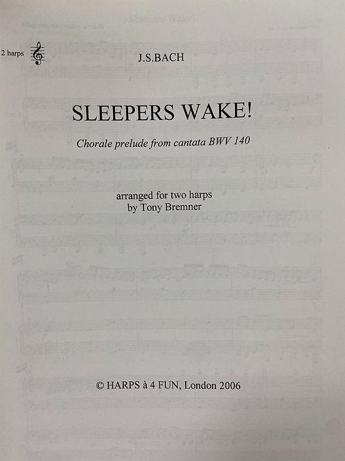 Bach: Sleepers Wake arr. 2 harps Bremner