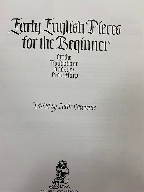 Ed. Lawrence: Early English Pieces for the Beginner