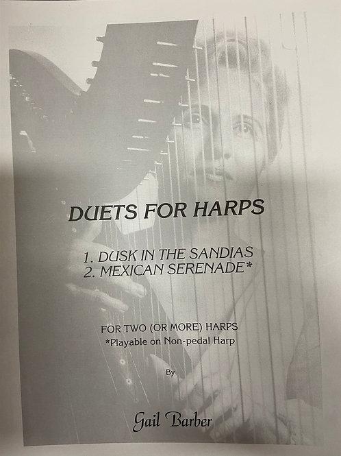 Barber: Duets for Harp