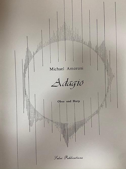 Amarosi: Adagio harp and oboe